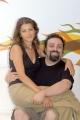 Presentazione del palinsesto autunnale de La7nelle foto:Massimiliano Bruno e Sabrina Nobile