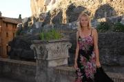 Roma 16/06/2010 Presentazione a castel Sant'Angelo dei palinsesti rai 2010_2011, nella foto Licia Colò