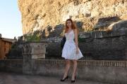 Roma 16/06/2010 Presentazione a castel Sant'Angelo dei palinsesti rai 2010_2011, nella foto Metis Di Meo