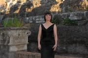 Roma 16/06/2010 Presentazione a castel Sant'Angelo dei palinsesti rai 2010_2011, nella foto Lorena Bianchetti