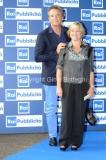 Roma25/06/2013 Serata SIPRA, nella foto: Christian De Sica con la moglie