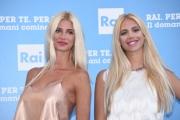 Foto/IPP/Gioia Botteghi 05/07/2016 Roma presntazione dei palinsesti RAI, nella foto:   Ias Carol Gigli e Jasmine Gigli