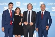 Foto/IPP/Gioia Botteghi 05/07/2016 Roma presntazione dei palinsesti RAI, nella foto:  Dall' Orto, DallaTana,  Fabiano,