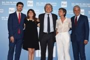 Foto/IPP/Gioia Botteghi 05/07/2016 Roma presntazione dei palinsesti RAI, nella foto:  Dall' Orto, DallaTana, Bignardi, Fabiano,