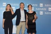 Foto/IPP/Gioia Botteghi 05/07/2016 Roma presntazione dei palinsesti RAI, nella foto:   Pierluigi Spada, Debora Rasio , Silvia Bencivelli