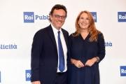 Foto/IPP/Gioia Botteghi 04/07/2017 Roma, presentazione dei palinsesti rai, nella foto:   Mario Orfeo, Momica Maggioni