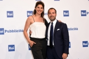 Foto/IPP/Gioia Botteghi 04/07/2017 Roma, presentazione dei palinsesti rai, nella foto:     Paolo Poggio, Benedetta Rinaldi