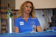 07/04/2015 Roma presentazione RAI SPONSOR DI MAGLIA DELLE NAZIONALI PARALIMPICHE, nella foto: Annalisa Minetti