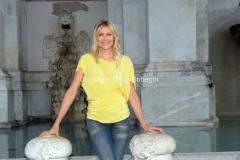 Roma 21/07/2012 trasmissione rai PER TUTTA LA VITA nella foto: N. Stefanenko