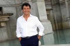 Roma 21/07/2012 trasmissione rai PER TUTTA LA VITA nella foto: E. Frizzi