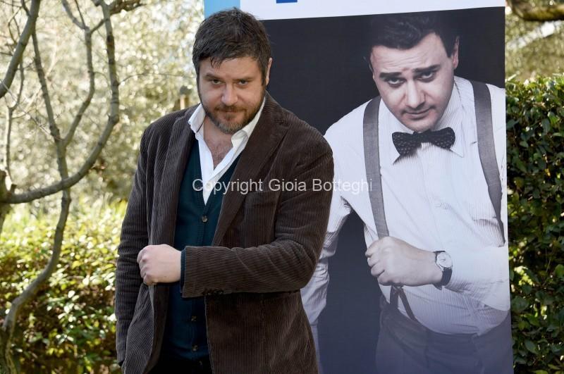 Foto/IPP/Gioia Botteghi Roma 21/02/2020 Presentazione della fiction- Permette? Alberto Sordi- nella foto:  Edoardo Pesce Italy Photo Press - World Copyright