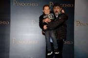 Foto/IPP/Gioia Botteghi Roma12/12/2019 presentazione del film Pinocchio, nella foto Massimo Ceccherini e Davide Marotta Italy Photo Press - World Copyright