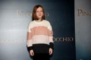 Foto/IPP/Gioia Botteghi Roma12/12/2019 presentazione del film Pinocchio, nella foto Alida Baldari Calabria  Italy Photo Press - World Copyright