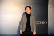 Foto/IPP/Gioia Botteghi Roma12/12/2019 presentazione del film Pinocchio, nella foto Federico Ielapi Italy Photo Press - World Copyright