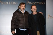 Foto/IPP/Gioia Botteghi Roma12/12/2019 presentazione del film Pinocchio, nella foto Massimo Ceccherini e Rocco Papaleo Italy Photo Press - World Copyright
