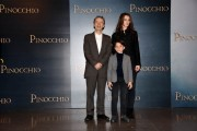 Foto/IPP/Gioia Botteghi Roma12/12/2019 presentazione del film Pinocchio, nella foto  Marine Vacth, Roberto Benignie e Federico Ielapi Italy Photo Press - World Copyright