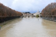 Foto/IPP/Gioia Botteghi Roma 08/11/2020 Veduta del fiume Tevere , da ponte Umberto I Italy Photo Press - World Copyright