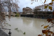 Foto/IPP/Gioia Botteghi Roma 08/11/2020 Veduta del fiume Tevere , Castel Sant'Angelo Italy Photo Press - World Copyright
