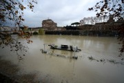 Foto/IPP/Gioia Botteghi Roma 08/11/2020 Veduta del fiume Tevere , ponte Umberto I Italy Photo Press - World Copyright