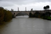 Foto/IPP/Gioia Botteghi Roma 08/11/2020 Veduta del fiume Tevere , ponte Flaminio Italy Photo Press - World Copyright