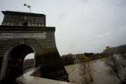 Foto/IPP/Gioia Botteghi Roma 08/11/2020 Veduta del fiume Tevere da Ponte Milvio Italy Photo Press - World Copyright