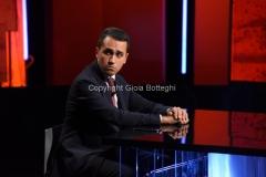 13/09/2016 Roma Puntata di Politics ospite Luigi Di Maio