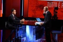 13/09/2016 Roma Puntata di Politics ospite Luigi Di Maio, nella foto il conduttore Gianluca Semprini