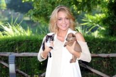 """Roma 12/07/2012 Pongo e Peggy"""" con Georgia Luzi, in onda su Rai1 da sabato 4 agosto"""