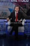 Roma12/06/2013 puntata di porta a porta con il ministro del lavoro Enrico Giovannini