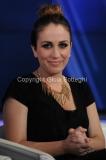 Roma12/06/2013 puntata di porta a porta con Elhaida Dani (vincitrice di The Voice)