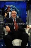 04/02/2014 Roma puntata di porta a porta sui 60 anni della televisione, nella foto: Giampiero Galeazzi