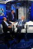 09/09/2013 Roma prima puntata di porta a porta ospite con Vespa e Schifani e Latorre
