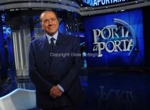 12/11/2015 Roma Berlusconi ospite di Porta a porta