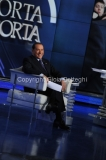 09/01/2013 Roma Porta a porta con Berlusconi