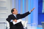 Roma 5/05/2009 porta a porta con Silvio Berlusconi