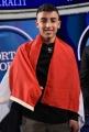 Foto/IPP/Gioia Botteghi Roma 25/03/2019 Puntata di Porta a porta con il piccolo eroe Egiziano , nella foto: Ramy Shehata con la bandiera Egiziana  Italy Photo Press - World Copyright