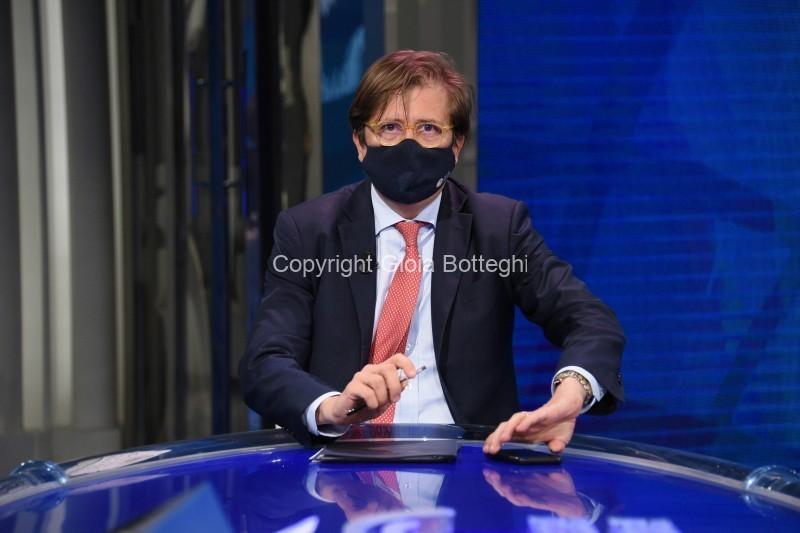 Foto/IPP/Gioia Botteghi Roma 20/05/2021 puntata di porta a porta con Pierpaolo Sileri Italy Photo Press - World Copyright