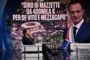 Foto/IPP/Gioia Botteghi Roma 20/03/2019 Porta a porta rai uno, ospite Matteo Salvini Italy Photo Press - World Copyright