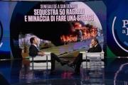 Foto/IPP/Gioia Botteghi Roma 20/03/2019 Porta a porta rai uno, ospite Matteo Salvini con Bruno Vespa Italy Photo Press - World Copyright