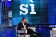 30/11/2016 Roma porta a porta speciale referendum , ospiti : Matteo Renzi