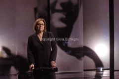 28/03/2011 Roma prima puntata della trasmissione di raitre POTERE, condotta da Lucia Annunziata
