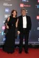 Foto/IPP/Gioia Botteghi 21/03/2018 Roma    David di Donatello nella foto: Paolo Genovese e moglie Federica