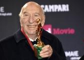 Foto/IPP/Gioia Botteghi 21/03/2018 Roma    David di Donatello nella foto: miglior Attore non protagonista Giuliano Montaldo