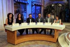19/07/2015 Roma premio La giara su rai due nella foto: i sei finalisti