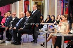 19/07/2015 Roma premio La giara su rai due nella foto: Giancarlo Magalli e la giuria
