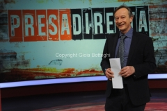 """07/02/2016 Roma Riccardo Iacona nella trasmissione"""" Presa diretta"""" rai tre"""