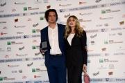 Foto/IPP/Gioia Botteghi Roma 30/05/2019 presentazione delle cinquine per i Nastri d'Argento, nella foto Valentina D'Agostino con Andrea Farri Italy Photo Press - World Copyright