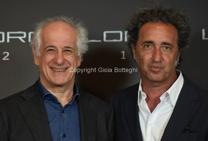 Foto/IPP/Gioia Botteghi 02/05/2018 Roma, Presentazione del film Loro 1\2, nella foto: Toni Servillo e Paolo Sorrentino  Italy Photo Press - World Copyright