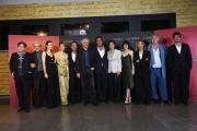 Foto/IPP/Gioia Botteghi 02/05/2018 Roma, Presentazione del film Loro 1\2, nella foto: Toni Servillo e Paolo Sorrentino ed il cast con lo sceneggiatore Umberto Contarello  Italy Photo Press - World Copyright
