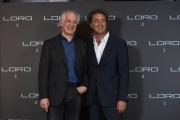 Foto/IPP/Gioia Botteghi 02/05/2018 Roma, Presentazione del film Loro 1\2, nella foto: Toni Servillo e Paolo Sorrentino  Italy Photo Press - World Copyright